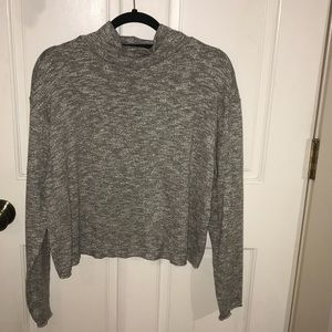 Abercrombie Cropped Turtle Neck Sweater
